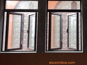 Cửa Sổ Mở Quay 2 Cánh & Fix Nhôm XINGFA