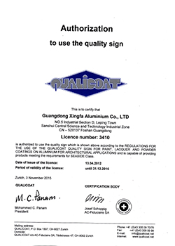 QUALICOAT-Certificate